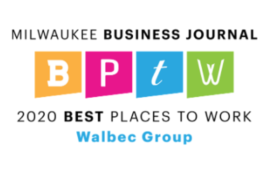 Walbec Group Named a Milwaukee Business Journal Best Place to Work