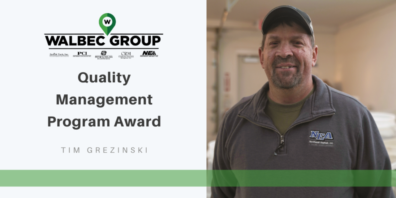 Quality Management Program Award