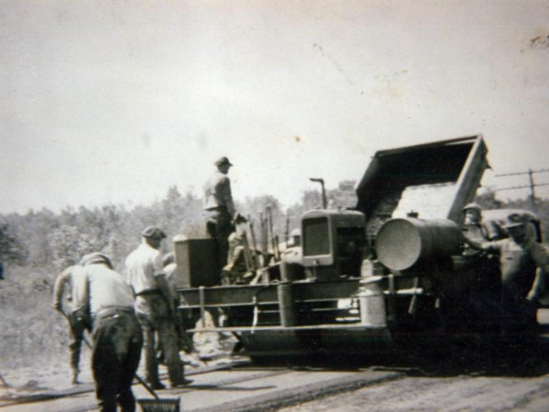 1st PAVER - 1932