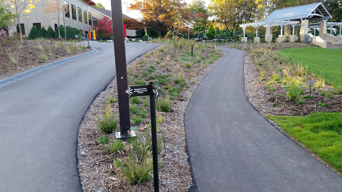 Green Bay Botanical Garden Walkways