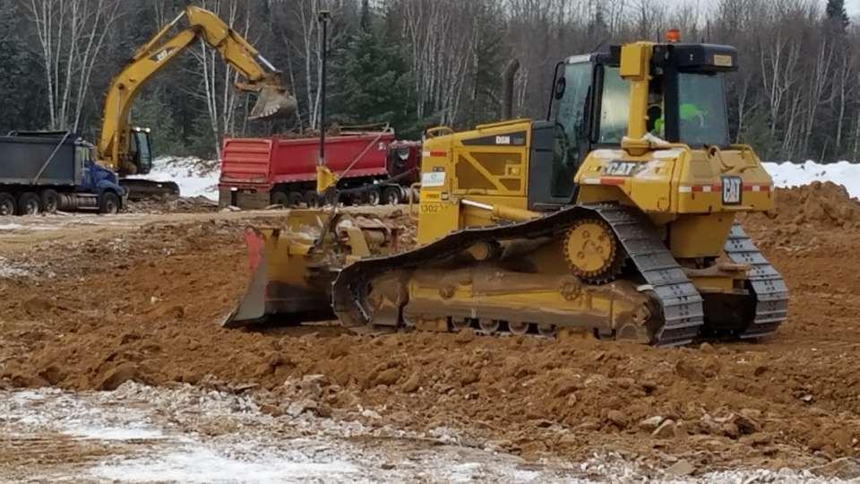 UMCER Site Work Winter