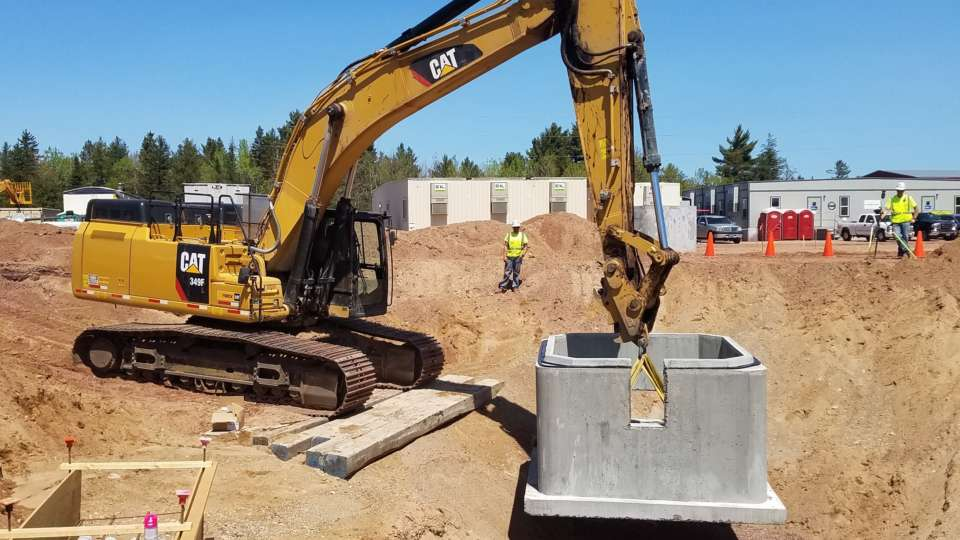 UMERC Excavation and Backfill Boldt contract