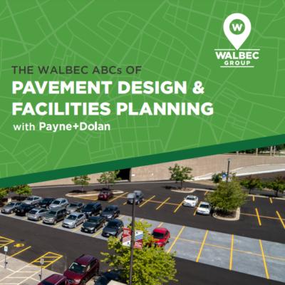 Pavement Design & Facilities Planning