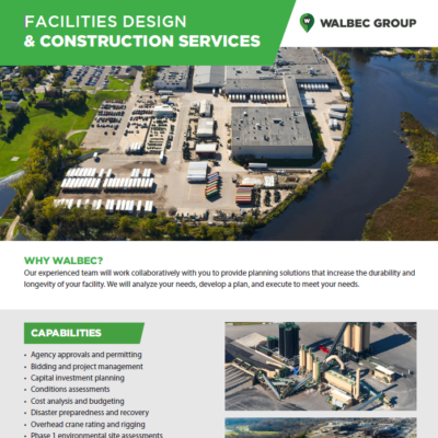 Facilities Design and Construction Services