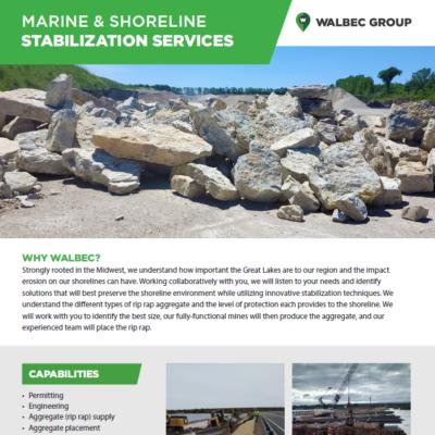 Marine and Shoreline Stabilization