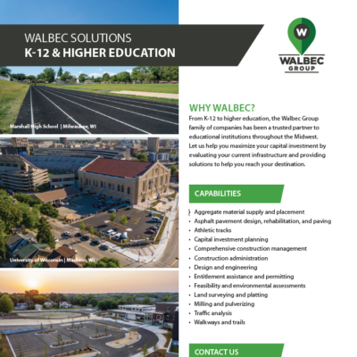 Walbec solutions for K12 and Higher Education
