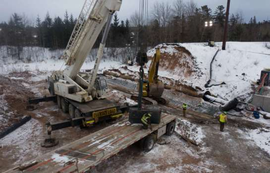 Warner Creek Improvements | Empire Mine