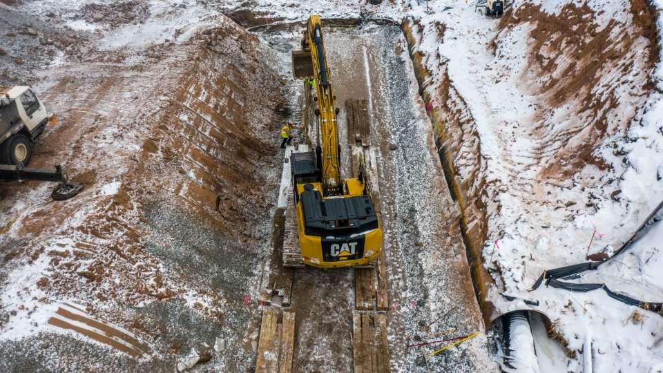 MI Mine Railroad Drainage Drone Jan 2021 1